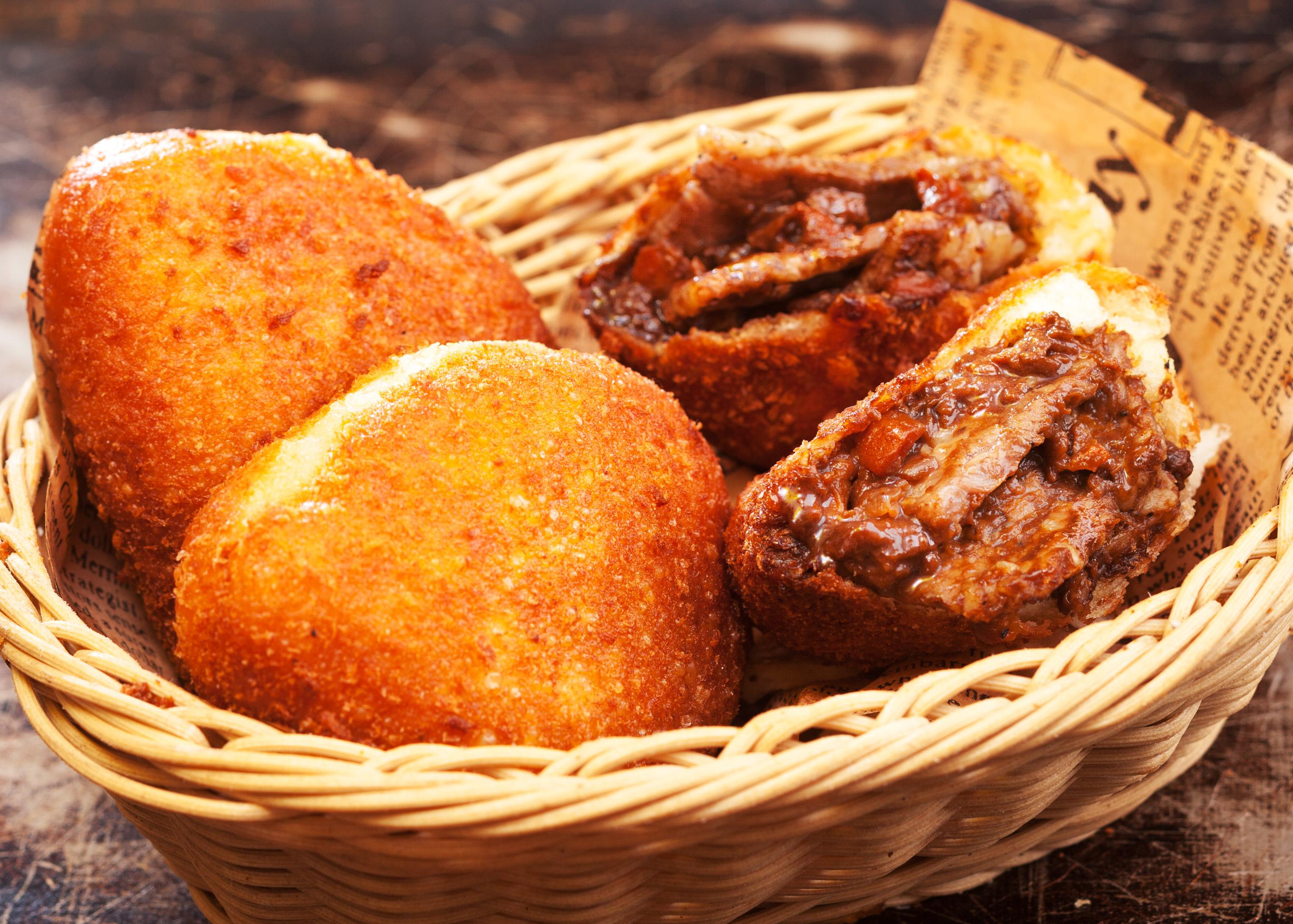 パン ステーキ カレー